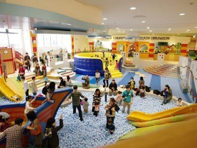 都内最大級の室内遊び場 アソボ~ノAsobono 感想レポート