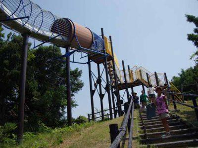 えっ、こんな大きな公園が無料?!県立淡路島公園。ローラー滑り台が最高!