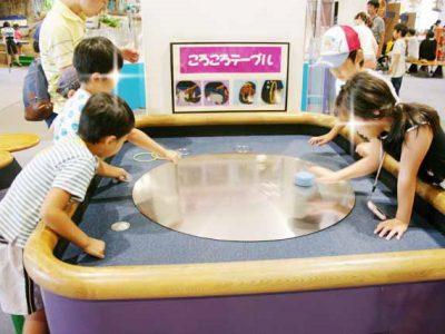 遠心力や摩擦力も学んじゃおう at キッズプラザ大阪