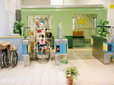 車いすや目が不自由な人の体験で思いやりを持とう! at キッズプラザ大阪