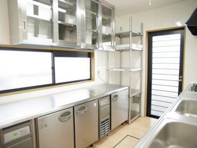 住宅から保育園へのリノベーションで、保育園のキッチン調理室を作る注意点