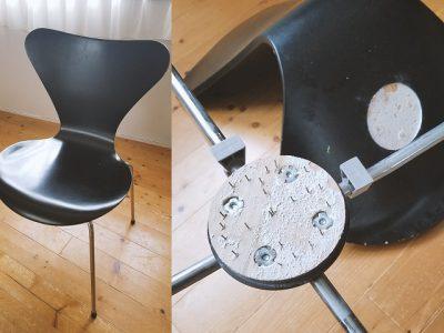 アルネ・ヤコブセン セブンチェアのデザイン性と耐久性の考察