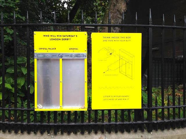 Cigarette-voting-box