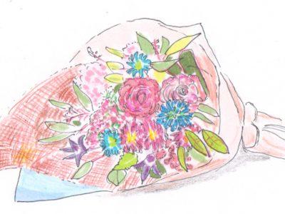 花があると生活が潤ってきます。花と暮らしのコラム1